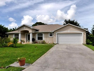 1525 SE Minorca Avenue, Port Saint Lucie, FL 34953 - MLS#: RX-10483836