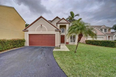 64 King Fisher Way, Boynton Beach, FL 33436 - #: RX-10484083