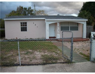 726 56th Street, West Palm Beach, FL 33407 - MLS#: RX-10484134