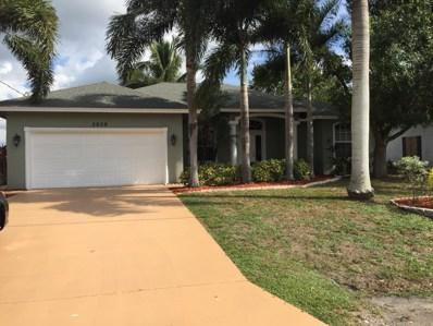 2609 SW Chestnut Lane, Port Saint Lucie, FL 34953 - #: RX-10484163