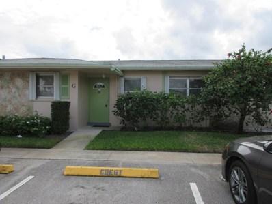 2688 Dudley Drive E UNIT G, West Palm Beach, FL 33415 - MLS#: RX-10484198