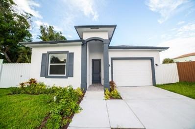 421 Nathan Hale Road, West Palm Beach, FL 33405 - #: RX-10484241