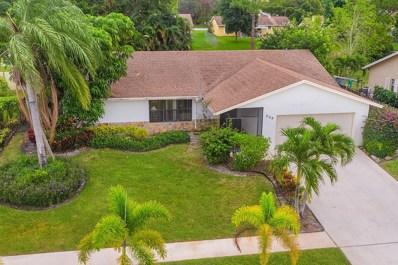 206 Martin Circle, Royal Palm Beach, FL 33411 - MLS#: RX-10484277