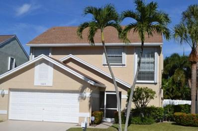 1064 Fairfax Circle W, Boynton Beach, FL 33436 - #: RX-10484465