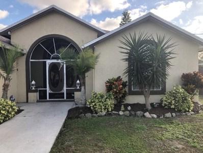 1502 SW Abacus Avenue, Port Saint Lucie, FL 34953 - #: RX-10484748