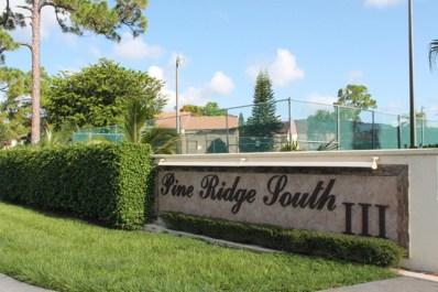 310 Knotty Pine Circle UNIT D-2, Greenacres, FL 33463 - MLS#: RX-10484802