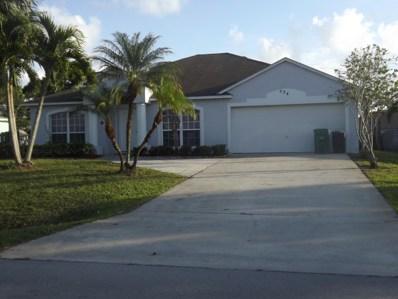 534 SE Thanksgiving Avenue, Port Saint Lucie, FL 34953 - MLS#: RX-10484944