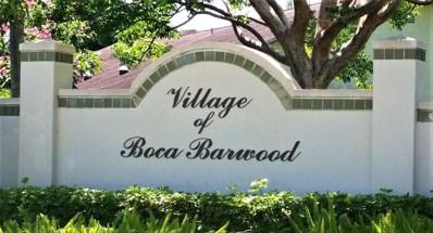 23344 SW 55th Way UNIT B, Boca Raton, FL 33433 - MLS#: RX-10485009