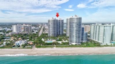 3100 N Ocean Boulevard UNIT 1202, Fort Lauderdale, FL 33308 - MLS#: RX-10485012