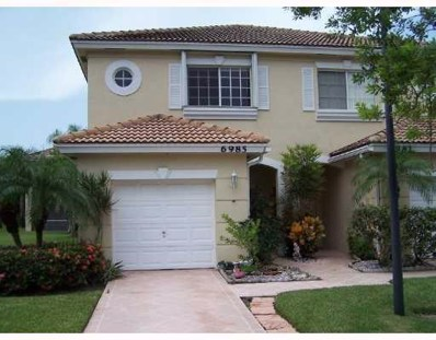 6985 Brookhollow Road, Lake Worth, FL 33467 - MLS#: RX-10485408