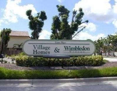 5719 Fox Hollow Drive UNIT A, Boca Raton, FL 33486 - MLS#: RX-10485509