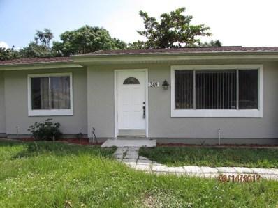 349 SW Tulip Boulevard, Port Saint Lucie, FL 34953 - #: RX-10485732