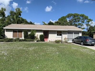 509 SE Faith Terrace, Port Saint Lucie, FL 34983 - MLS#: RX-10485752