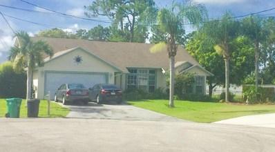5181 NW Aljo Court, Port Saint Lucie, FL 34986 - MLS#: RX-10485756