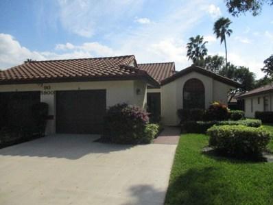 5900 Sunswept Lane UNIT B, Boynton Beach, FL 33437 - MLS#: RX-10485830