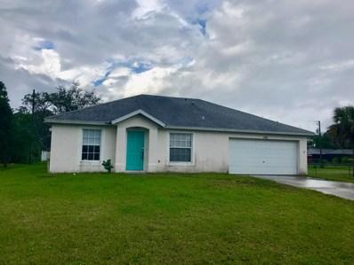1126 SW Hutchins Street, Port Saint Lucie, FL 34983 - MLS#: RX-10485891