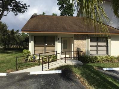 1010 Parkside Green Drive UNIT A, Greenacres, FL 33415 - MLS#: RX-10485917