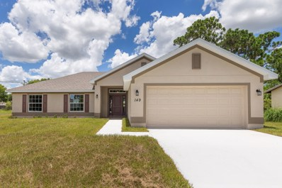 149 SW Pisces Terrace, Port Saint Lucie, FL 34953 - MLS#: RX-10485965