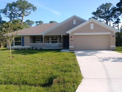 142 SW Crescent Avenue, Port Saint Lucie, FL 34984 - MLS#: RX-10486078