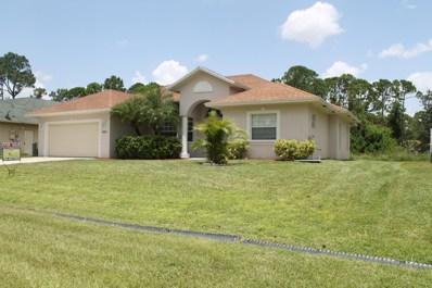 1637 SW Starman Avenue, Port Saint Lucie, FL 34953 - MLS#: RX-10486257