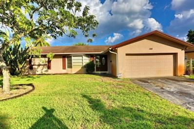 160 NW 46th Terrace, Plantation, FL 33317 - MLS#: RX-10486283