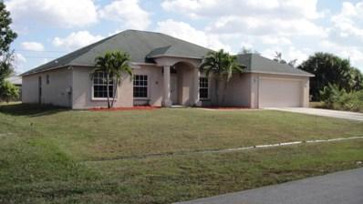 4161 SW Tumble Street, Port Saint Lucie, FL 34953 - #: RX-10486302