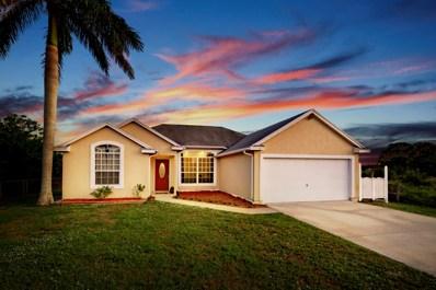 718 SW Amber Terrace, Port Saint Lucie, FL 34953 - #: RX-10486527