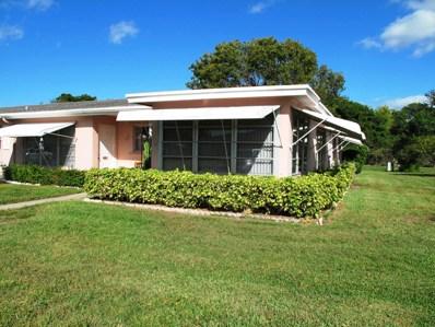247 High Point Court W UNIT D, Delray Beach, FL 33445 - MLS#: RX-10486873