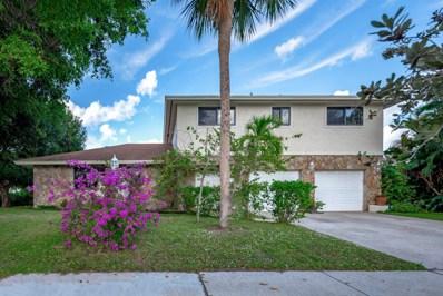 221 N Country Club Boulevard, Boca Raton, FL 33487 - MLS#: RX-10487149