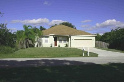 4475 SW Fireside Circle, Port Saint Lucie, FL 34953 - MLS#: RX-10487340