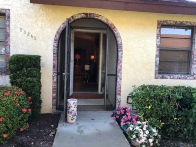 23365 Barlake Drive, Boca Raton, FL 33433 - MLS#: RX-10487423