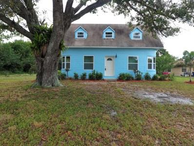 719 S 24th Street, Fort Pierce, FL 34950 - MLS#: RX-10487633