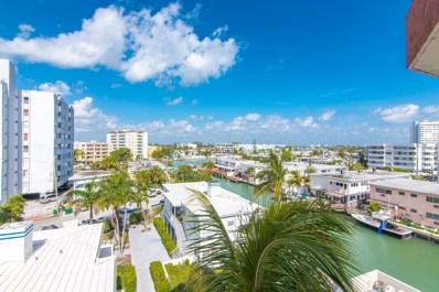 7150 Indian Creek Drive Drive UNIT 506, Miami Beach, FL 33141 - MLS#: RX-10487853