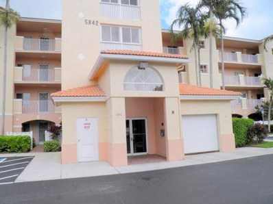5842 Crystal Shores Drive UNIT 406, Boynton Beach, FL 33437 - MLS#: RX-10488494