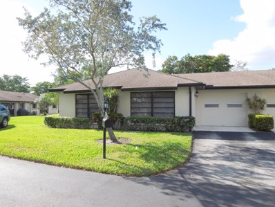 4767 Greentree Way UNIT A, Boynton Beach, FL 33436 - MLS#: RX-10488995