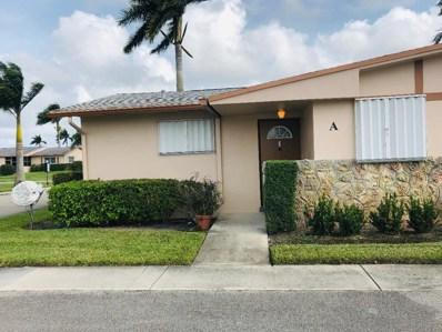 2739 Dudley Drive W UNIT A, West Palm Beach, FL 33415 - MLS#: RX-10489223