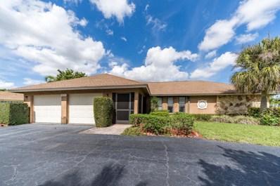 4727 Palo Verde Drive, Boynton Beach, FL 33436 - MLS#: RX-10489562