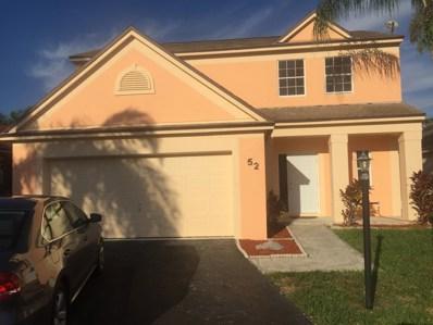52 Egret Way, Boynton Beach, FL 33436 - #: RX-10489675