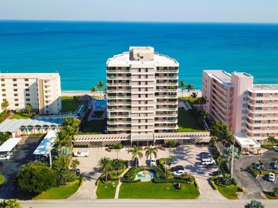 2917 S Ocean Boulevard UNIT 604, Highland Beach, FL 33487 - MLS#: RX-10489679