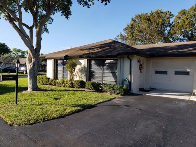 4871 Equestrian Circle UNIT A, Boynton Beach, FL 33436 - MLS#: RX-10491327