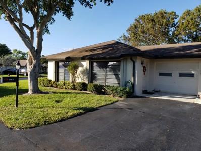4871 Equestrian Circle UNIT A, Boynton Beach, FL 33436 - MLS#: RX-10491327