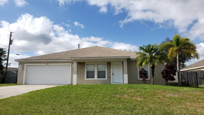 4668 SW Flintstone Drive, Port Saint Lucie, FL 34953 - MLS#: RX-10491455