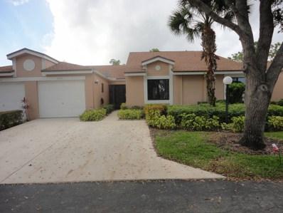 8160 Springlake Drive UNIT B, Boca Raton, FL 33496 - MLS#: RX-10491508