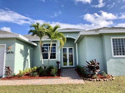 1971 SW Breezeway Street, Port Saint Lucie, FL 34953 - MLS#: RX-10491919