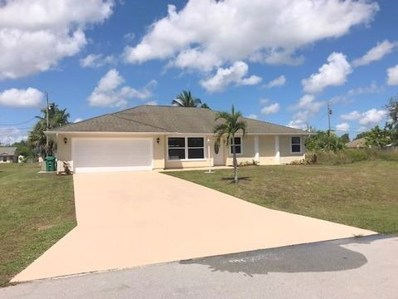 2650 SW Harem Circle, Port Saint Lucie, FL 34953 - #: RX-10492008