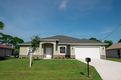 5768 NW Cleburn Drive, Port Saint Lucie, FL 34986 - MLS#: RX-10492240
