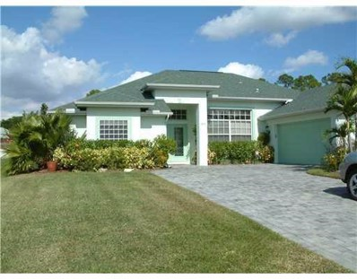 1825 SW Grant Avenue, Port Saint Lucie, FL 34953 - MLS#: RX-10492564