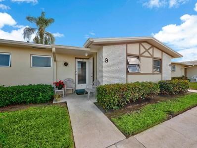2789 Ashley Drive W UNIT C, West Palm Beach, FL 33415 - MLS#: RX-10492766