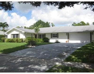 7767 Oakmont Drive, Lake Worth, FL 33467 - #: RX-10492882