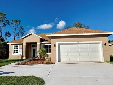 681 NW Floresta Drive, Port Saint Lucie, FL 34983 - MLS#: RX-10493179
